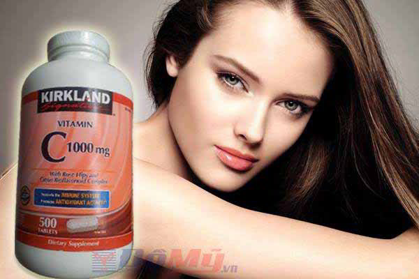Vitamin C 500mg Kirkland 500 viên, Vitamin C Kirkland