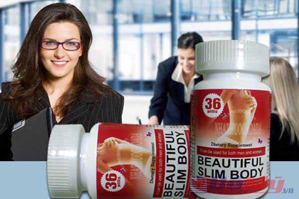 Mua viên giảm cân Beautiful Slim Body giá bao nhiêu?