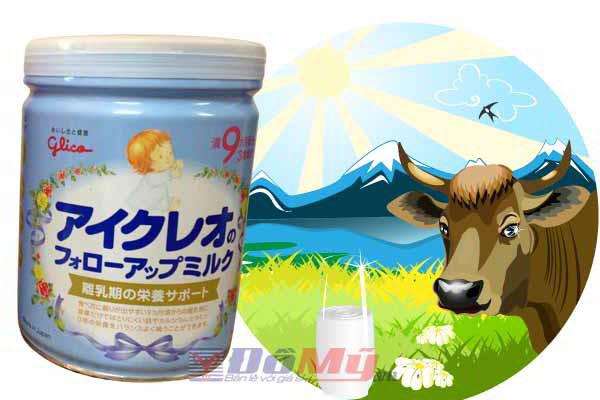 Sữa Icreo số 9 dành cho trẻ từ 9 đến 36 tháng - 850g - Nhật