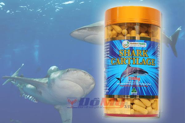 Sụn Vi Cá Mập Golden Health 750Mg 365 Viên - Úc