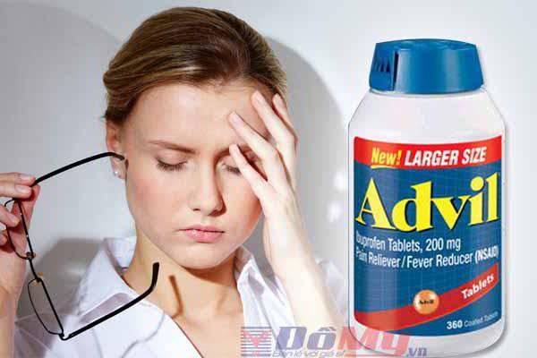 Viên uống giảm đau hạ sốt Advil 360 của Mỹ