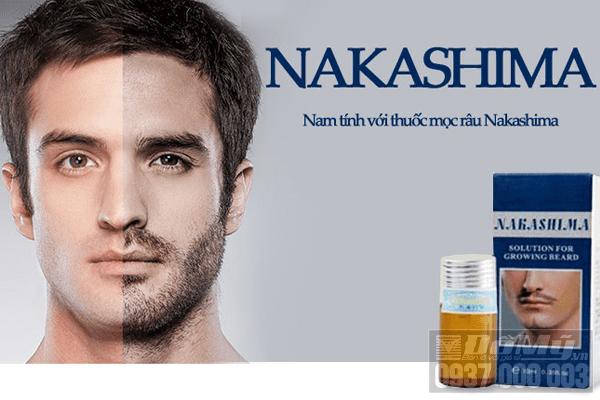 Tìm hiểu thuốc mọc râu Nakashima bán ở đâu?