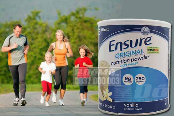 Tác dụng của sữa Ensure mang lại cho người sử dụng?