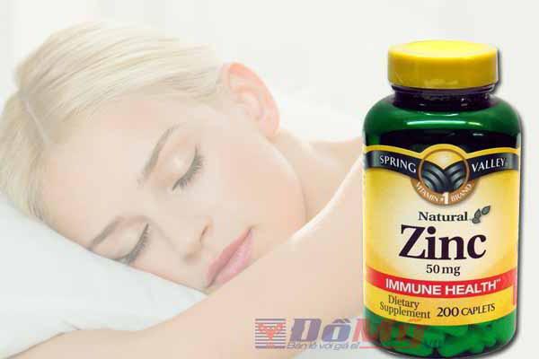 Viên uống thuốc kẽm zinc trị mụn của Mỹ hiện có giá bán bao nhiêu