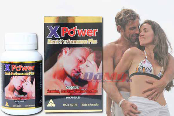 X-Power Men Performance Plus Golden Health nhập khẩu Australia - Thuốc Tăng Cường Sinh Lực Nam Giới