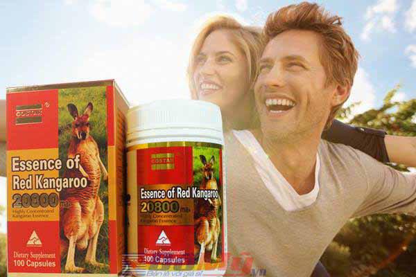 Tăng cường sinh lực đàn ông - Essence of Red Kangaroo 20800 ( 100 viên) - Úc
