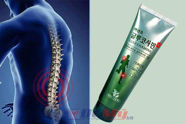 Dầu xoa bóp khớp toàn thân Cactus Glucosamine Massage Body Cream 5