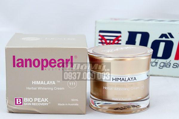Kem trắng da Lanopearl Himalaya Whitening Cream 50 ml của Úc