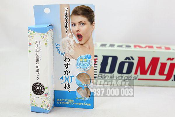 Kem trị thâm nách Pukku Puku Bubble Soda Pack 30g của Nhật Bản