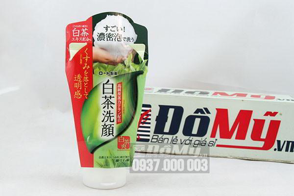 Sữa rửa mặt trà xanh Rohto Shirochasou Green 120g của Nhật Bản
