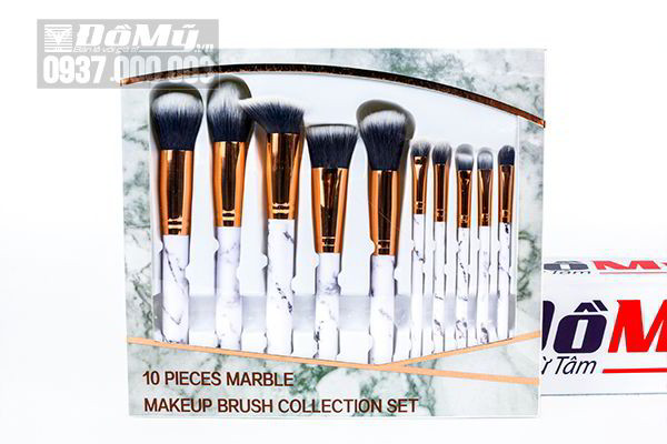 Bộ cọ 10 cây Marble Makeup Brush Collection set