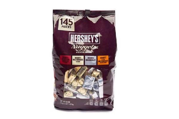 Kẹo Chocolate Hershey's Nuggets 1.47Kg Mỹ