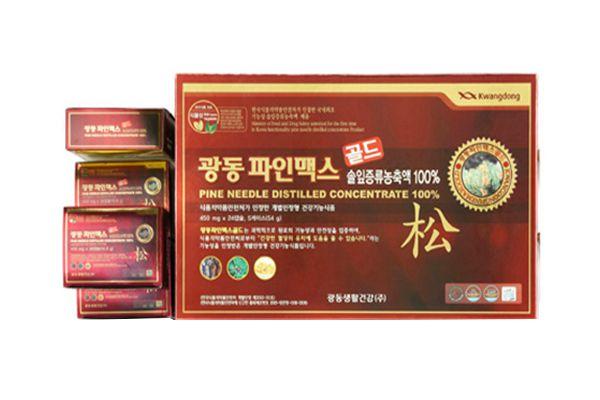 Viên uống tinh dầu thông đỏ Kwangdong Hàn Quốc