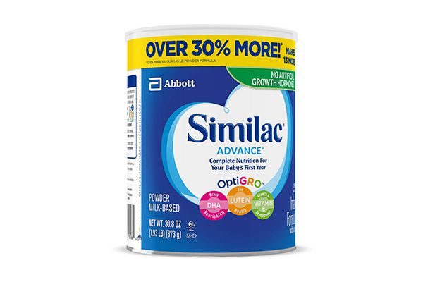 Sữa bột Similac Advance miễn dịch cho bé từ 0-12 tháng 873g của Mỹ