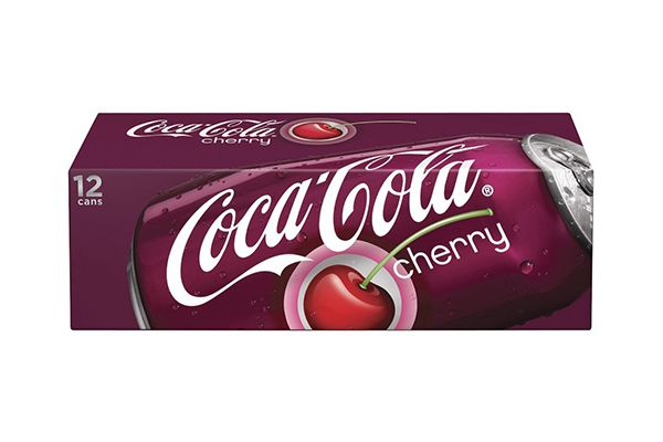 Nước ngọt hương cherry Coca Cola thùng 12 lon x 355ml
