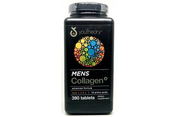 Viên uống Collagen Youtheory Men's Type 1, 2 & 3 dành cho nam 390 viên của Mỹ