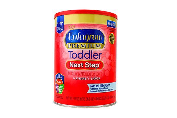 Sữa bột Enfagrow Premium NON –GMO Toddler Next Step cho bé từ 1 đến 3 tuổi 1.04kg – Mỹ (nắp đỏ)