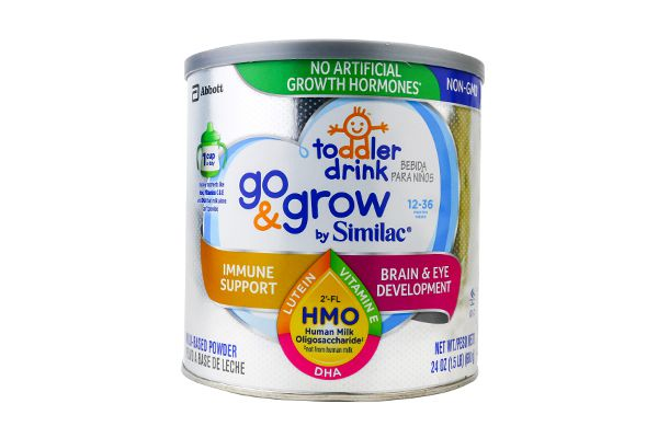 Sữa bột Similac Go & Grow NON-GMO Milk-Based Toddler Drink Powder With 2'-FL HMO 680g (xám)