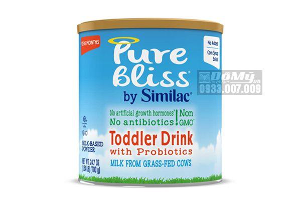 Sữa Similac  Pure Bliss Non – GMO Toddler Drink 700g dành cho bé từ 12 – 36 tháng của Mỹ