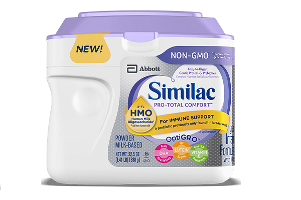 Sữa Similac công thức hỗ trợ tiêu hóa Similac Total Comfort NON-GMO 638g