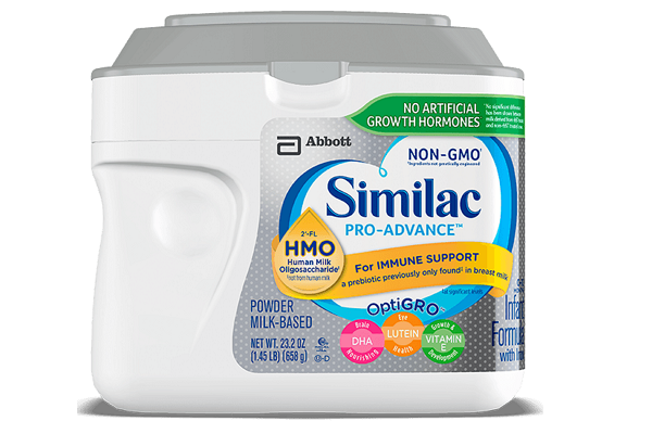 Sữa Similac Pro Advance Non GMO - HMO cho bé từ 0 - 12 tháng 658 g của Mỹ