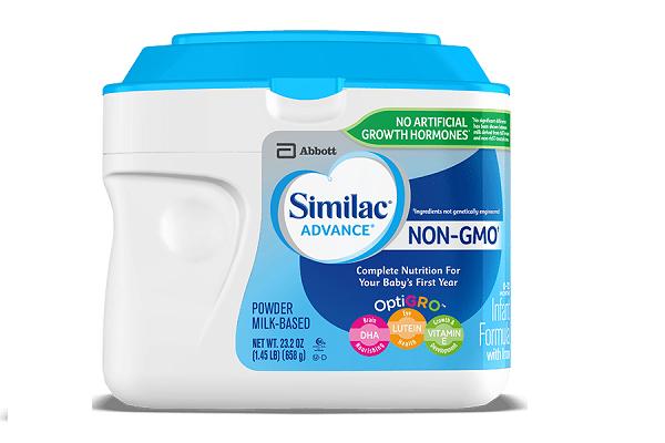 Sữa bột Similac Advance Non GMO dành cho bé từ 0-12 tháng của Mỹ