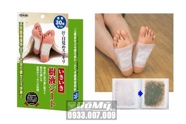 Miếng dán thải độc chân To-Plan Natural Foot Sheet (30 miếng)