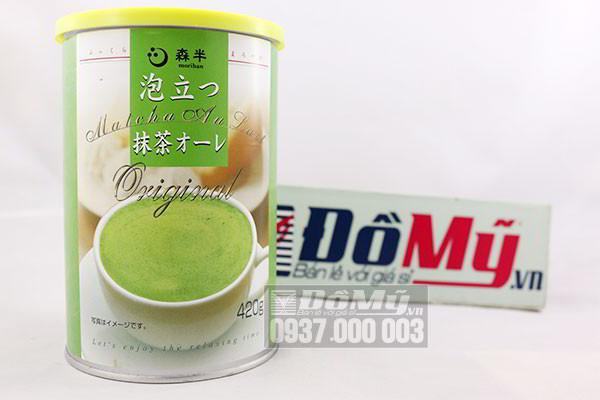 Bột trà xanh Matcha Au Lait Original 420g của Nhật Bản