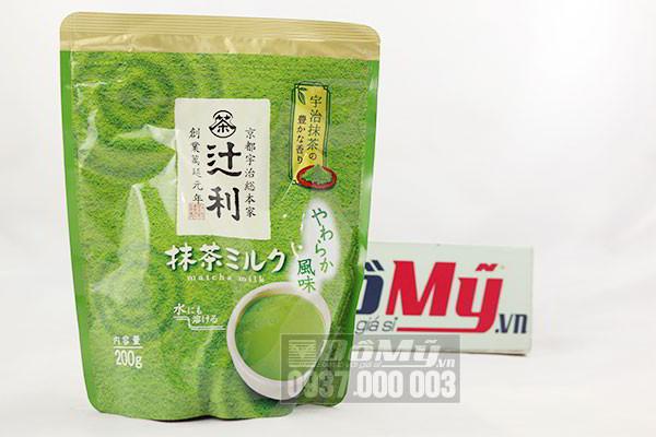 Bột trà xanh Matcha milk 200g của Nhật Bản
