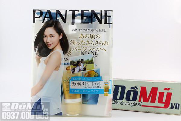 Bộ dầu gội xả hấp tóc Pantene chăm sóc tóc mềm mượt của Nhật Bản