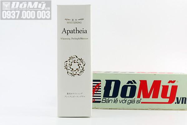 Gel tẩy tế bào chết làm trắng da Whitening Apatheia 300g của Nhật Bản