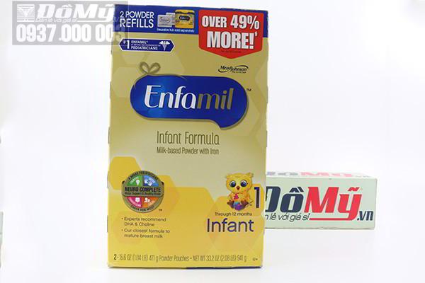 Sữa Enfamil PREMIUM ® Infant cho bé từ 0-12 tháng từ Mỹ (Mẫu cũ)
