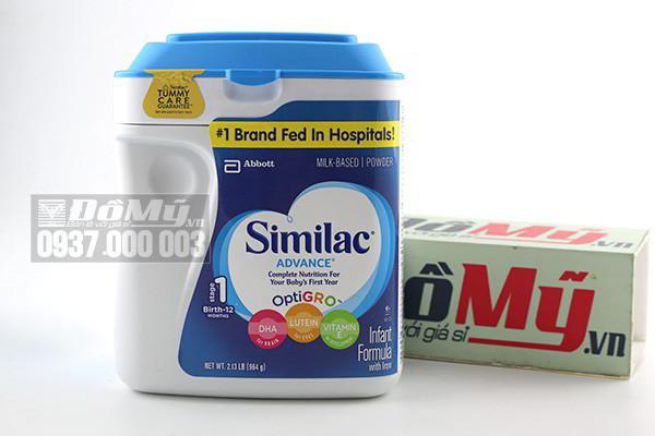Sữa Similac Advance dành cho bé từ 0-12 tháng 964g của Mỹ