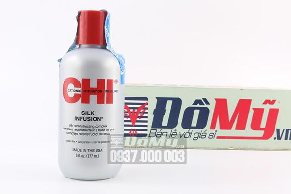 Tinh dầu dưỡng bóng tóc của Mỹ CHI Silk Infusion loại 177ml