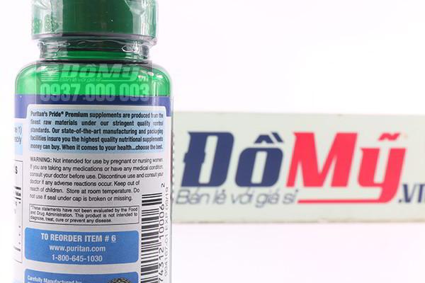 Công dụng và thành phần của sản phẩm Non-GMO Soy Isoflavones 60 viên