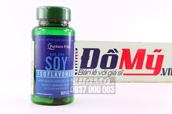 Viên Mầm Đậu Nành Non-GMO Soy Isoflavones 60 viên
