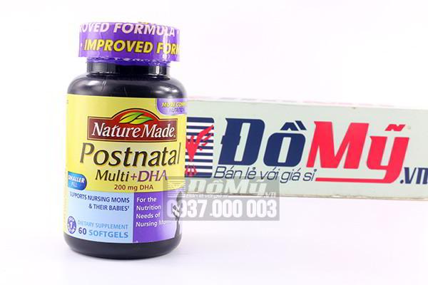 Vitamin Dành Cho Phụ Nữ Cho Con Bú Postnatal Multi DHA