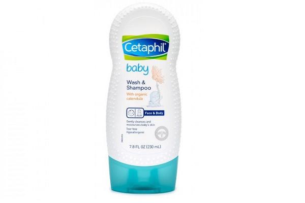 Sữa tắm gội Cetaphil Baby Wash and Shampoo With Organic Calendula của Đức 230ml