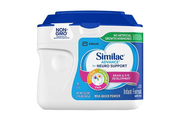 Sữa bột Similac Advance For Neuro Support 658g dành cho bé từ 0-12 tháng
