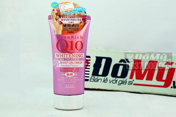 Kem dưỡng da tay Coen Rich Q10 Whitening Medicated 80g của Nhật Bản