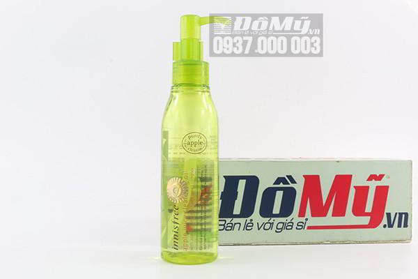 Dầu tẩy trang táo xanh Innisfree Apple Juicy Cleansing Oil 150ml của Hàn Quốc