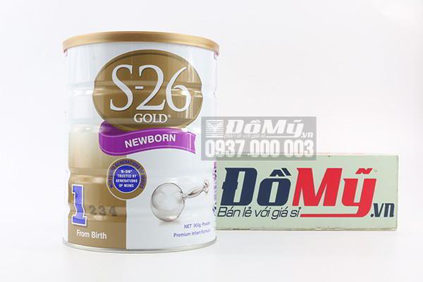 Sữa S26 Gold Newborn số 1 dành cho bé từ 0-6 tháng 900g của Úc