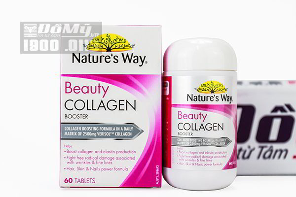Viên uống Nature's Way Beauty Collagen Booster 60 viên