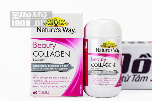Viên uống Nature's Way Beauty Collagen Booster 60 viên