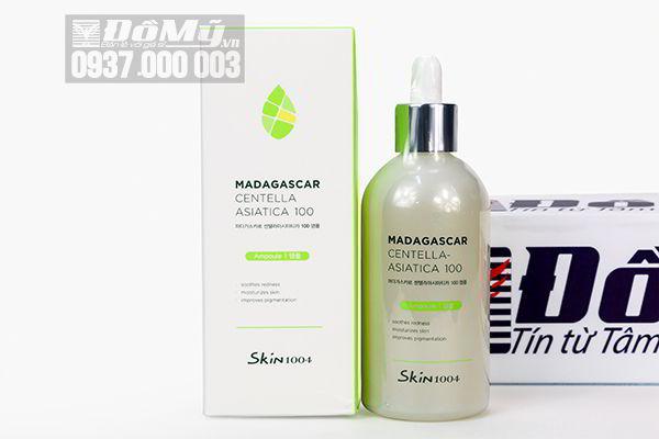 Tinh chất rau má Madagascar Centella Asiatlca 100 Ampoule 100ml của Hàn Quốc