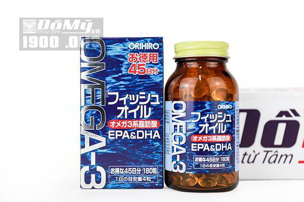 Viên uống bổ não OMEGA 3 DHA và EPA của Nhật Bản