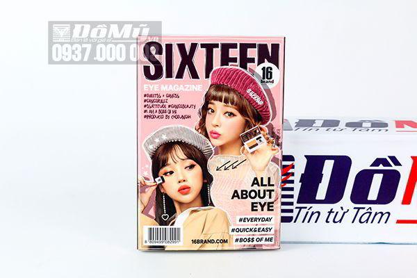 Bảng phấn mắt 16 Brand Eye Magazine 2.5g của Hàn Quốc
