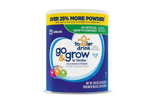 Sữa bột Similac Go & Grow Toolder Drink dành cho bé 12 - 24 tháng tuổi của Mỹ 873gr