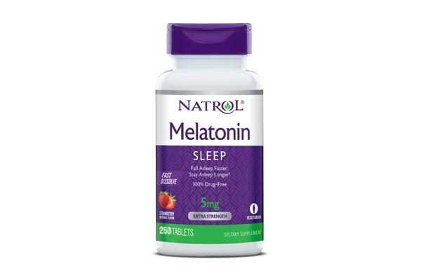 Viên ngậm giúp ngủ ngon Natrol Melatonin Sleep 5mg