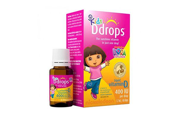 Vitamin D3 Baby Ddrops cho bé 400 IU- KIDS D S (60 GIỌT)